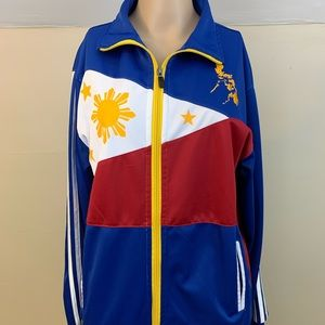 Adidas Philippines Flag Track Jacket Pilipinas XL